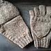 Men's Convertible Gloves pattern