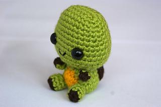 Ravelry: Cute Little Turtle pattern by Ice's Handmade Crochet