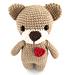 Toby the Amigurumi Teddy Bear pattern