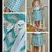 """Chasing Chevrons"" Skirt pattern"