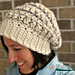 """""""Knotted Threads"""" Slouch pattern"""