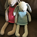 Claire the Hare Bunny Rabbit Toy pattern