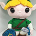 Link from The Legend of Zelda pattern