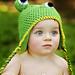 Frog Earflap Beanie pattern