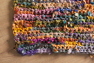 Ravelry: Ribbon Rag Rug pattern by