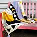 Bauhaus City Blanket pattern