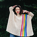 Colours of The Rainbow Poncho pattern