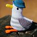 Cheeky Seagull pattern