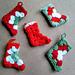 Granny Christmas Stocking pattern