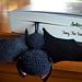 Tony, the Bookmark Bat pattern