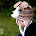 Buddy the Jack Russell Terrier Hat pattern