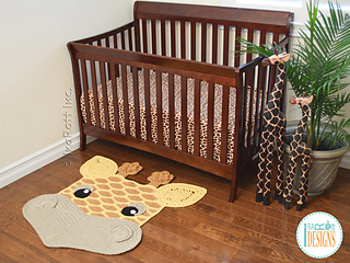Rusty The Giraffe Rug Pattern By Ira Rott