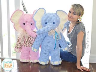 Crochet Elephant Amigurumi Easy Video Instructions | 240x320
