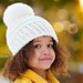 Amelia Hat with Chunky PomPom pattern