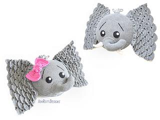 Crochet Elephant Pillow Pattern - Crochet News | 240x320