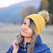 The Textured Mountain Hat pattern