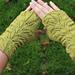 Green Fingers Fingerless Mitts pattern