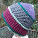 Stash-Busting Stripes Cap pattern