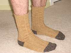 Men's Ribbed Sock
