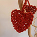 Be My Valentine Heart Garland pattern