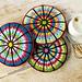 Spoke Wheel Coaster pattern