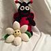 Ladybug Stuffie and Flower Playmate pattern