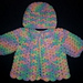 Baby Girl Shell Sweater and Hat pattern