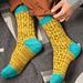 Avo Toast Socks pattern