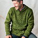 Brilliant Cables Hooded Sweater pattern