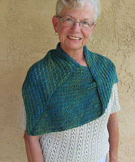 Over the Shoulder Shawl