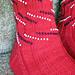 Patriotic Bead Striped Socks pattern