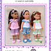 LC11 Pyjamas for 13 and 14 inch dolls pattern