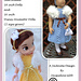 Top Down Party Dress for Kidz n Cats Dolls pattern