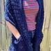 Vintage Lace Pocketed Shawl pattern