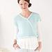 Bias Lace Sweater pattern