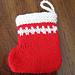 Seamless Mini Christmas Stocking v. 2 pattern