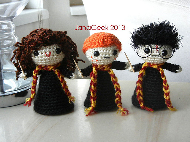 16 Magical Harry Potter Patterns for... | Top Crochet Patterns | 480x640