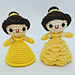 Beauty and the Beast Belle Doll pattern