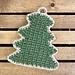 Holiday Tree Hot Pad pattern