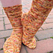 Soufflé Girl Socks (Doctor Who Inspired) pattern