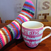 Where You Lead I Will Follow Socks ~ Gilmore Girls pattern