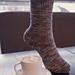 Espresso Con Panna Socks pattern