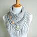 Easy Breezy Buttoned Cowl pattern