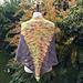 Tequila Sunset Shawl pattern