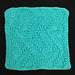 Pavilion Washcloth pattern