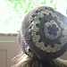 The Rosie -- Flower Top Slouch Beanie pattern