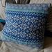 Snowflake Cushion pattern