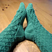 Spindle Socks pattern