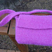 Flap Top Felted Bag pattern