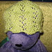 Vine Lace Baby Hat pattern